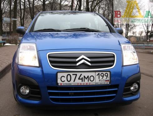 Citroen C2 VTS тест-драйв журнала «ВАШ ДРУГ - АВТОМОБИЛЬ».