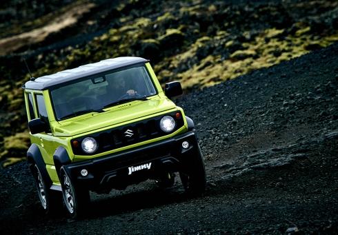 Suzuki представляет варианты комплектаций нового Jimny для России