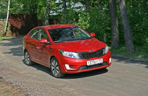 Тест-драйв «вне очереди»: Kia Rio (sedan)