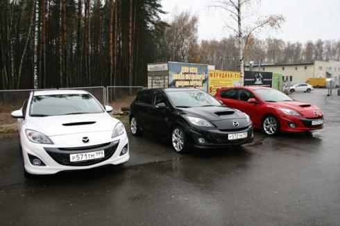 Мечта о полете – вместе с Mazda 3 New MPS