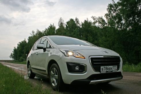 Тест-драйв Peugeot 3008 (Allure 1.6 AT)