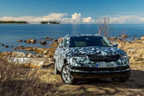 Новый игрок в сегменте компактных SUV: ŠKODA KAROQ
