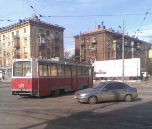 Трамвай «вырвался на свободу»