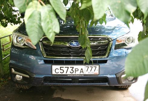 Тест-драйв от главного редактора: Subaru Forester (2.0 BM CVT)