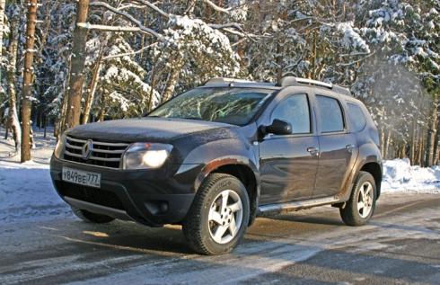 Зимний тест-драйв от главного редактора: Renault Duster 2.0 AT(2WD)
