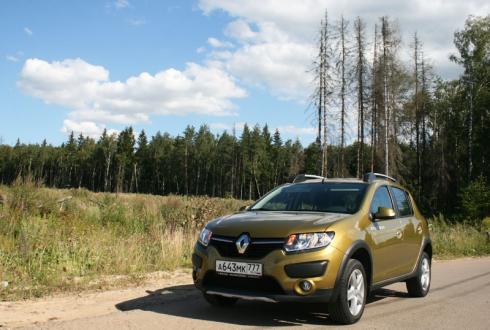 Тест-драйв от главного редактора: Renault Sandero Stepway
