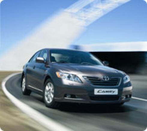 Автомобиль Toyota Camry получил премию «Лучшее авто 2008 по версии Рунета».