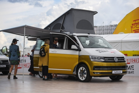Volkswagen Коммерческие автомобили на фестивале НАШЕСТВИЕ