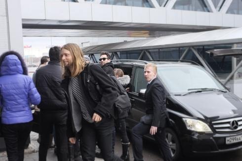 Mercedes-Benz - транспортный партнер первого российского концерта Maroon 5