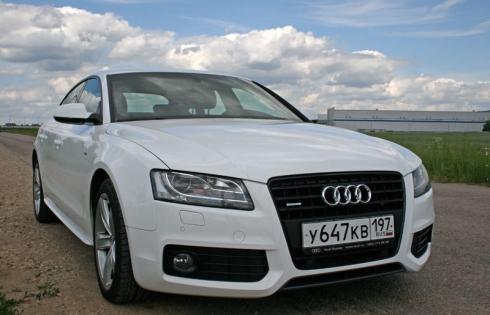 Audi A5 sportback 3.2 FSI – «два в одном»