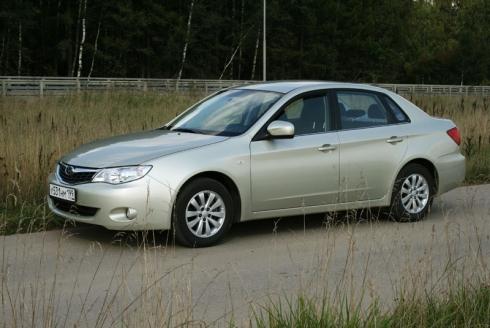 Тест-драйв от главного редактора: Subaru Impreza sedan (МКП). «ВАШ ДРУГ - АВТОМОБИЛЬ».