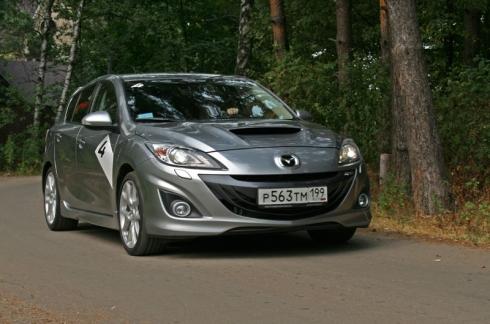 Тест-драйв: Mazda 3 MPS