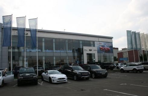 Jaguar Land Rover Россия открывает новый дилерский центр в Москве