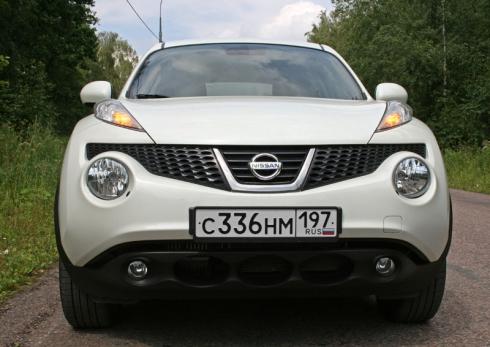 Тест-драйв «вне очереди»: Nissan Juke 1.6 4WD