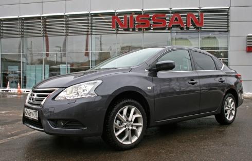 Тест-драйв «вне очереди»: Nissan Sentra (1,6 CVT)