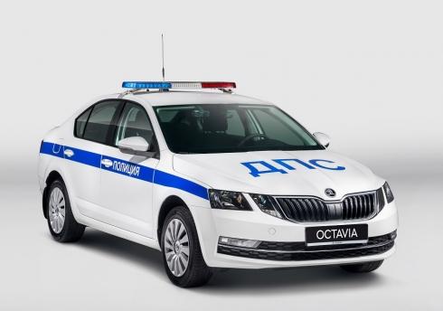 ŠKODA AUTO Россия передала полиции 3 870 патрульных автомобилей на базе ŠKODA OCTAVIA