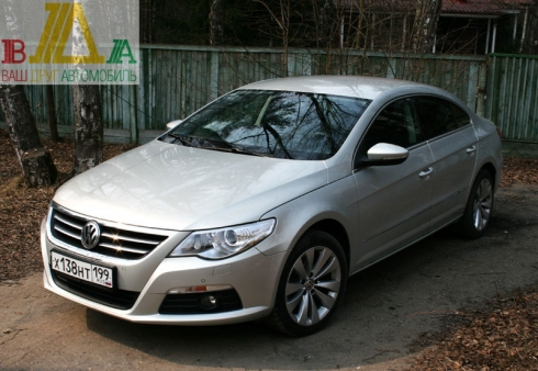 Volkswagen Passat CC 2.0 тест драйв журнала ВАШ ДРУГ - АВТОМОБИЛЬ