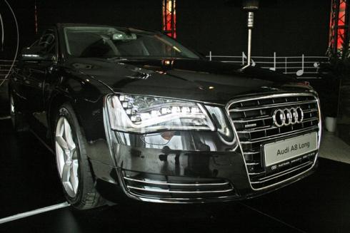 Audi A8 Long выходит на российский рынок