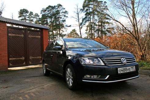 Неплохой «Вариант»: Тест-драйв Volkswagen Passat Variant 1.8 TSI