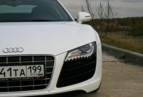 Тест-драйв: Специальный тест-драйв от Василия Буртового: Audi R8 (V10 5.2). «ВАШ ДРУГ - АВТОМОБИЛЬ»
