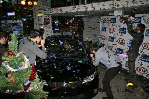 Kia Quest 2010 года завершен