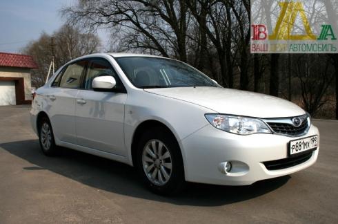 Subaru Impreza sedan тест драйв журнала ВАШ ДРУГ - АВТОМОБИЛЬ