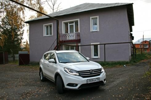 Поездка в Новольвовск вместе с Dongfeng580