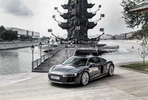 Российская премьера Audi R8 – самой мощной и быстрой серийной модели в истории марки