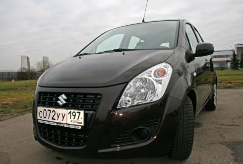 Тест-драйв «вне очереди»: Suzuki Splash New
