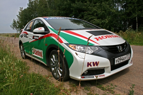 Тест-драйв: Honda Civic 5D (1.8 AT)