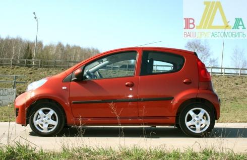 Peugeot 107 тест драйв журнала ВАШ ДРУГ - АВТОМОБИЛЬ