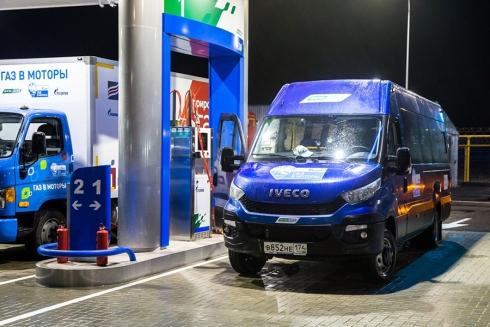 IVECO Stralis NP LNG и IVECO Daily преодолеют 2760 км по России в рамках автопробега «Голубой коридор»