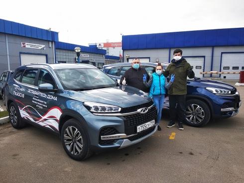 Компания CHERY передала автомобили ГКБ №52