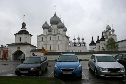 Прогулка в Ростов Великий – вместе с Subaru XV