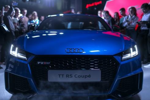 Российская премьера и старт продаж Audi TT RS