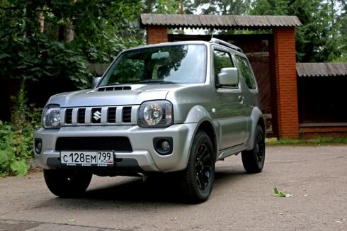 Тест-драйв: Suzuki Jimny (1.3 AT)
