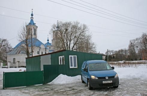 Благотворительный рейс в Хитровщину вместе с Volkswagen Caddy Maxi