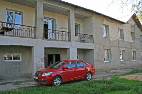 Поездка в Новольвовский православный приют вместе с Chery Bonus3