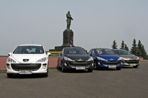 Автопробег Москва – Иркутск – Москва на Peugeot 308.