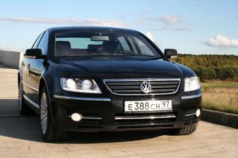 Тест-драйв: Специальный тест-драйв от Василия Буртового: Volkswagen Phaeton. «ВАШ ДРУГ - АВТОМОБИЛЬ»