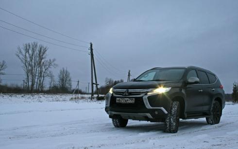 Новогодняя поездка в Новольвовск вместе с Mitsubishi Pajero
