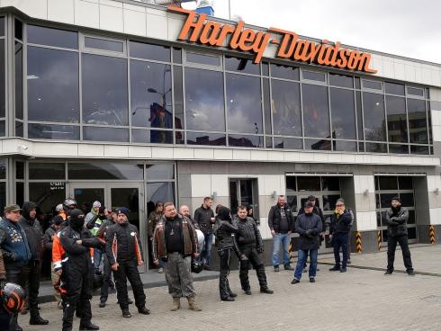 Мотоцикл в подарок на юбилей «Москва Harley-Davidson»