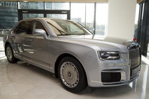 Открытие первой в России галереи автомобильного бренда «Aurus» состоялось в Москве