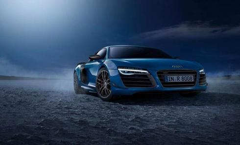 Audi R8 LMX – первый в мире серийный автомобиль с лазерными фарами
