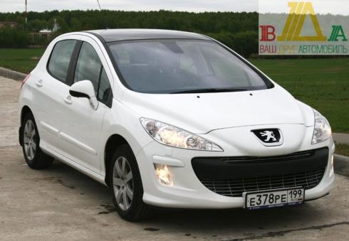 Peugeot 308 1,6T MT тест-драйв журнала «ВАШ ДРУГ - АВТОМОБИЛЬ».