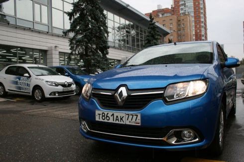 Тест-драйв от главного редактора: Renault Logan New (1,6 MT)
