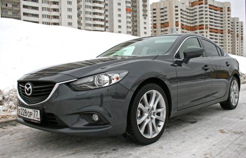 Mazda 6 new (2.0 АТ) – зимы не боится!