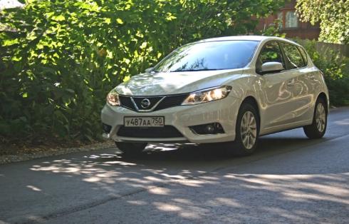 Тест-драйв «вне очереди»: Nissan Tiida New (1.6 МКПП)