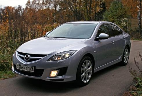 Тест-драйв: Mazda 6 (sedan). «ВАШ ДРУГ - АВТОМОБИЛЬ»