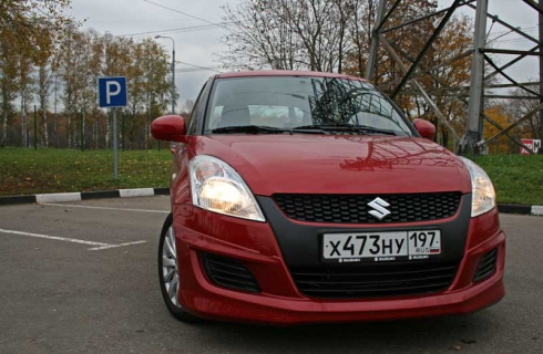 Тест-драйв от главного редактора: Suzuki Swift 5MT